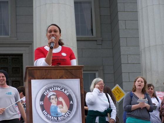 health care rally